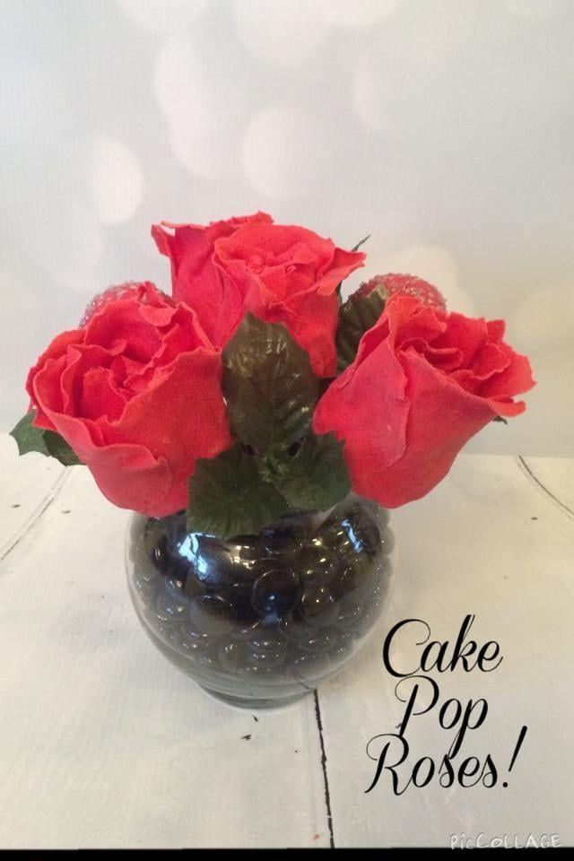 Valentines Day Cake Pop Bouquet #cakepopbouquet