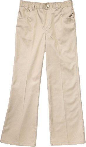 French Toast School Uniform Girls Pull On Pants Khaki 5 Girls