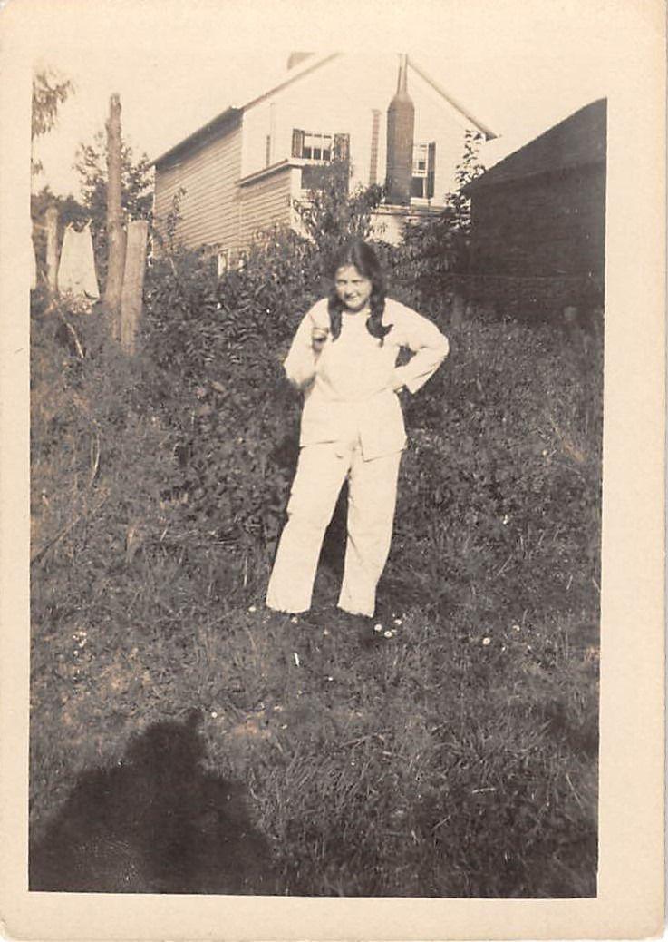 Vintage black teen