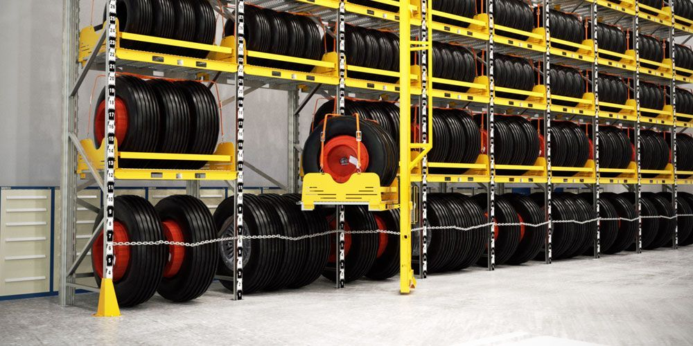 Tire Storage System Ban Air Truck And Automotive