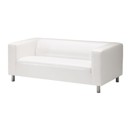 Charming KLIPPAN Loveseat IKEA Easy To Keep Clean; Wipe With A Sponge Dampened With  Water Or A Mild Detergent.