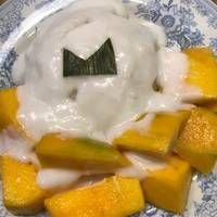 Resep Creamy Mango Sticky Rice Oleh Wiwin Rosmayanti Resep Mango Resep Mangga