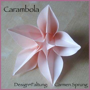 Origami Paper Folding Over ... Http://www.origamiseiten.de