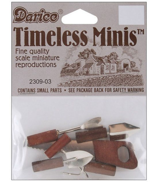 Darice Timeless Miniatures Hand Tools