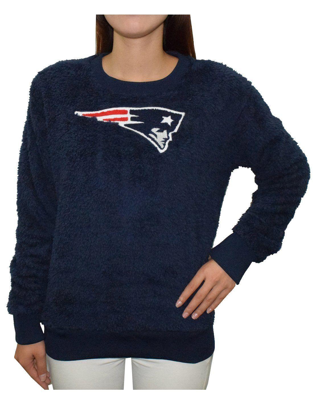 huge selection of c8797 fa012 Amazon.com: New England Patriots Athletic Warm Eyelash Knit ...