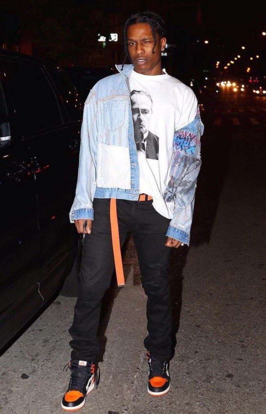 1556e762 Cute 💛 | A$AP Rocky ♥ in 2019 | Asap rocky fashion, Asap rocky ...