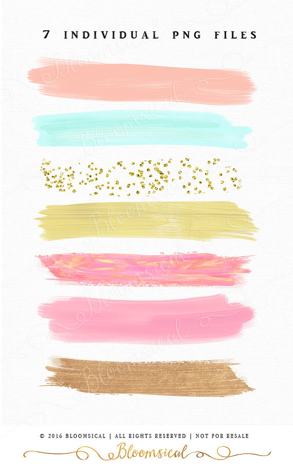 20+ Paint brush stroke clipart ideas