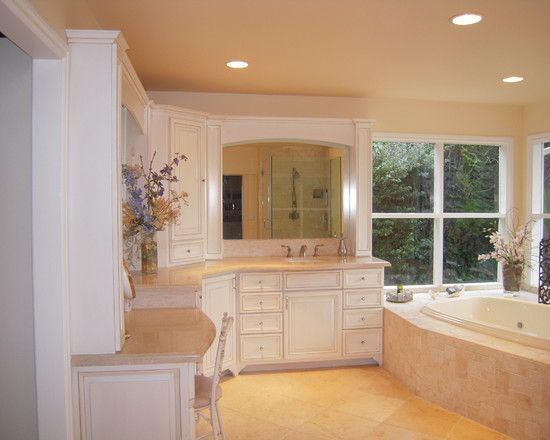 L shaped Vanity Design  Pictures  Remodel  Decor and Ideas. L shaped Vanity Design  Pictures  Remodel  Decor and Ideas