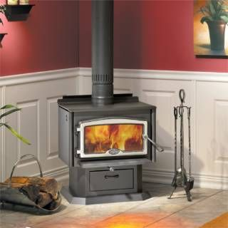 Osburn 1500 Series High Efficiency Epa Wood Stove With Blower Wood Burning Stoves Wood Stove Freestanding Fireplace Wood Burning Stove