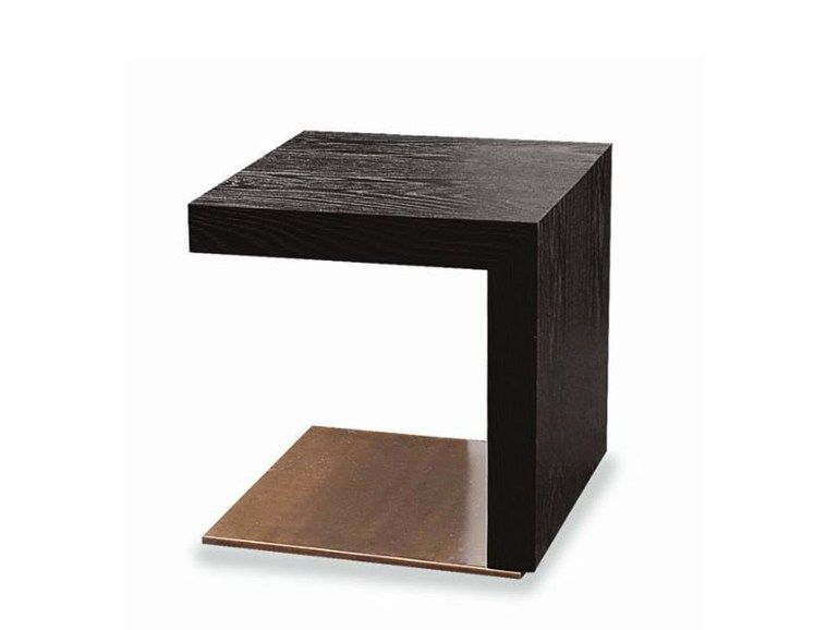 Low Wooden Side Table Toulouse Series By Minotti Design R D Furniture Side Tables Wooden Side Table Zen Furniture