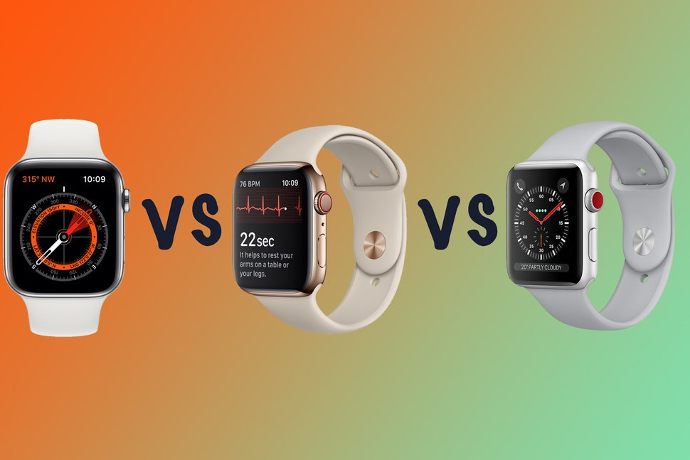 Apple Watch Series 5 vs Series 3 What's the difference