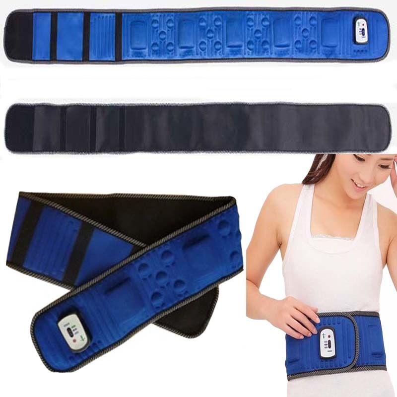 حزام 5 ماتور مغناطيسي حزام التخسيس 5 ماتور للتخلص من الكرش ينشط الدورة الدموية ويساعد على التخلص من الدهون المتراكمة على أى منطقة من م Fashion Accessories Belt