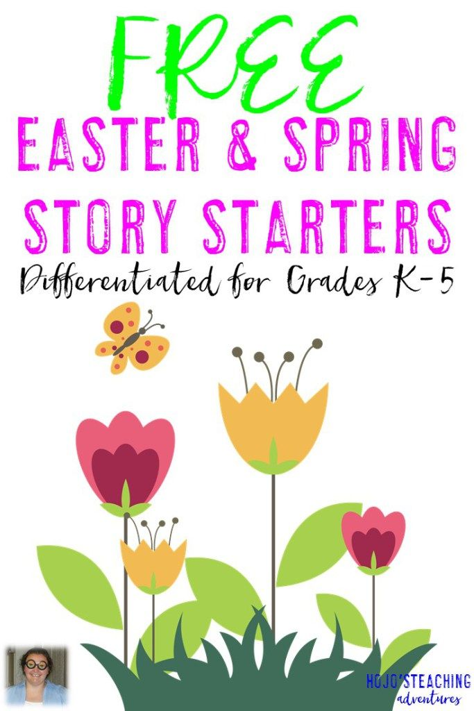 FREE K-5 Differentiated Easter & Spring Story Starters - HoJo ...
