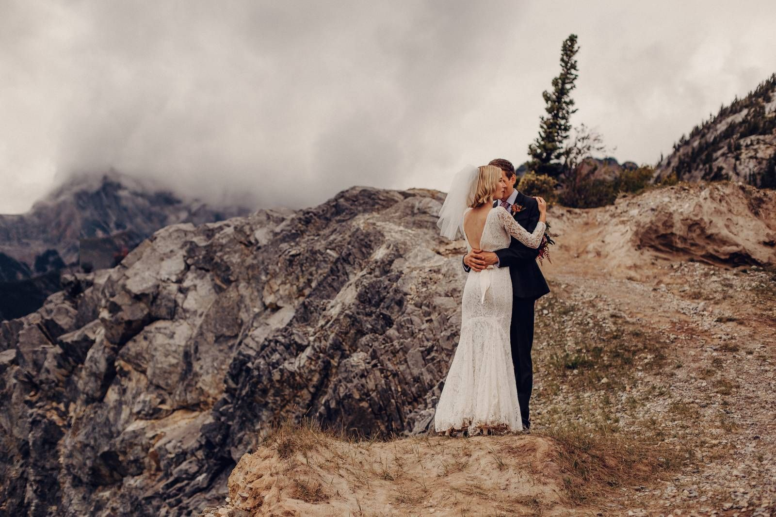 Intimate I Do's at David Thompson Resort | Rocky Mountain Bride