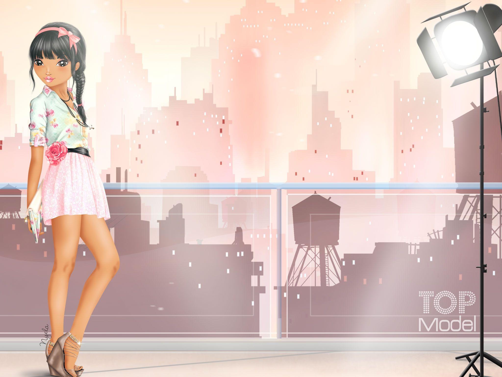 Pour Enfants Papier Peint Top Models Illustrations De Mode Poupée Barbie Tote Bags