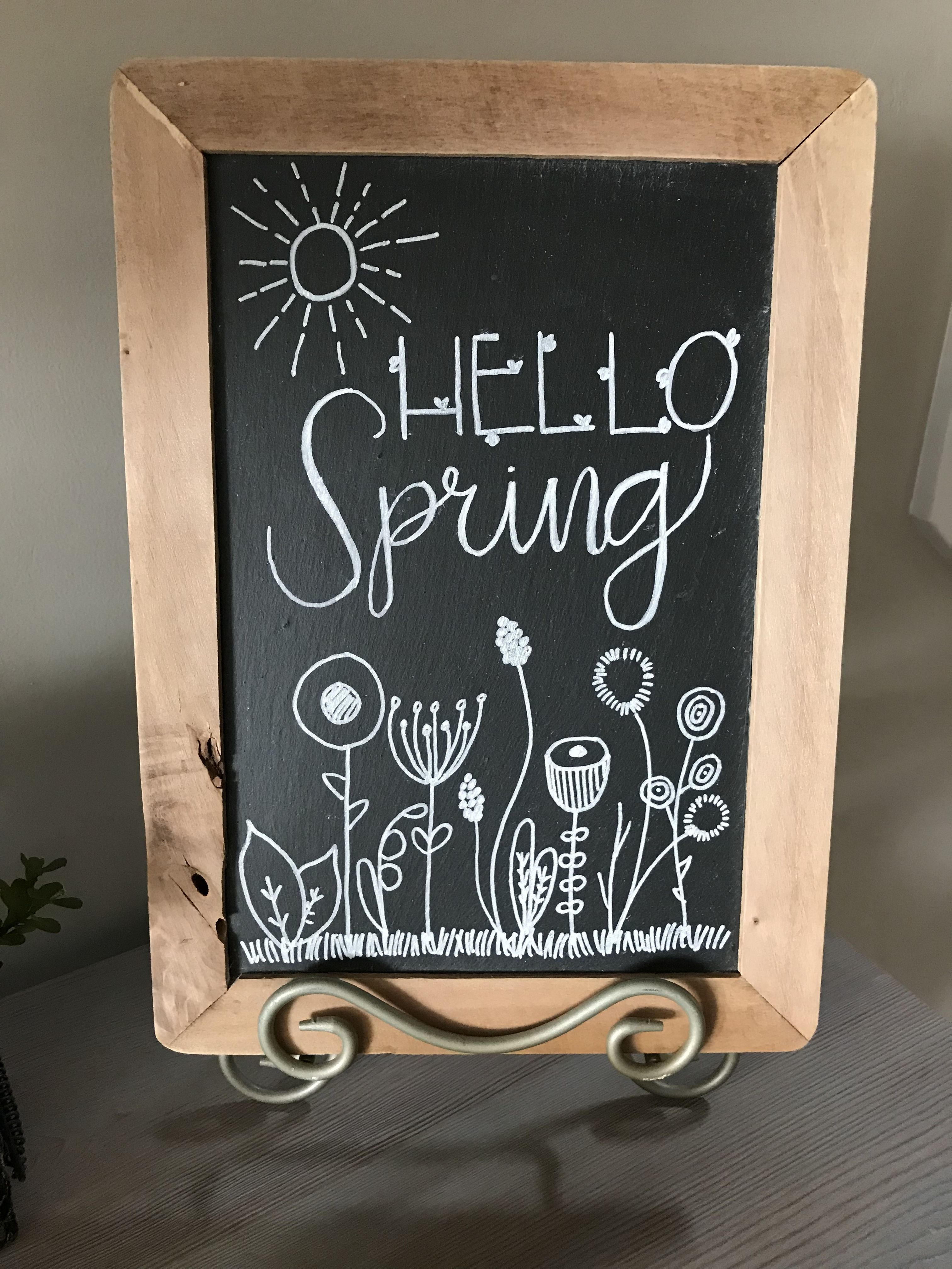 Photo of Hello Spring chalkboard 17 Tips