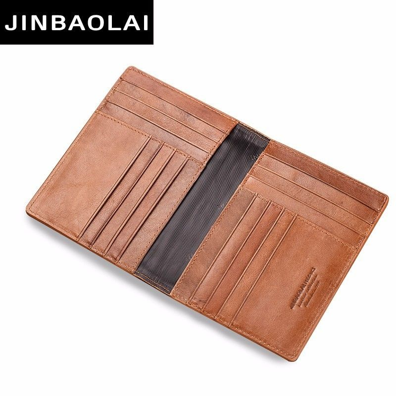Leather Wallets for men Slim Wallet for mens Credit Card Holder Travel Wallet with Crocodile Pattern Thin Wallets