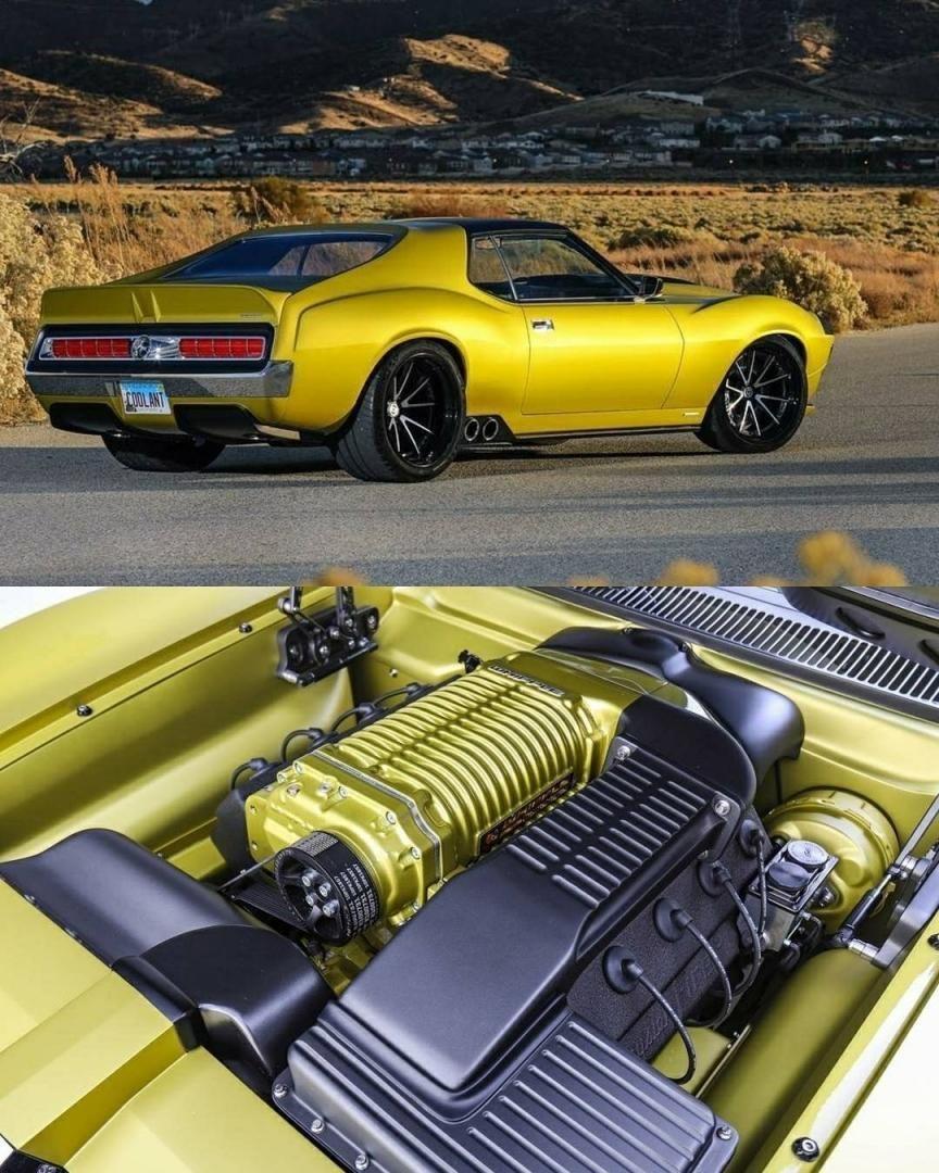 Amc Javelin Ringbrothers Sportscar Vehicle Classic Exoticcars Speed Vehic Amc Amc Javelin Dream Cars