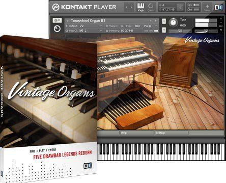 Native Instruments Vintage Organs Com Imagens Orgaos