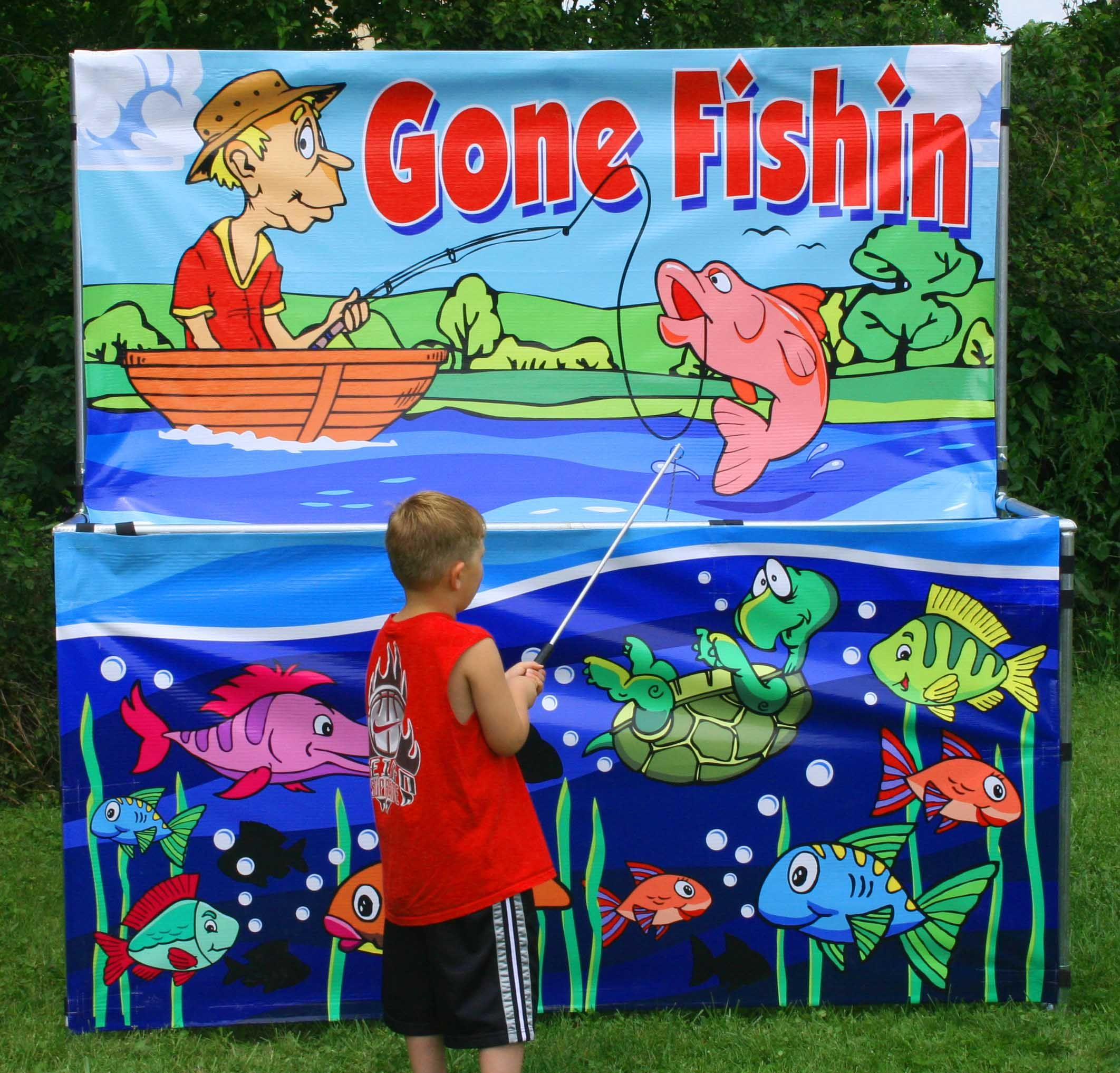Fish pond prize kid google search sarah carnival for Koi pond game online