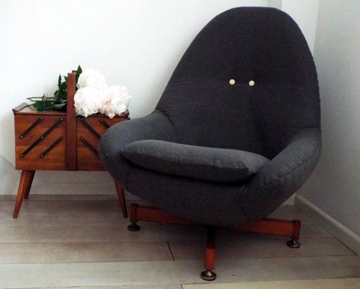 Reupholster Egg Chair Iconic Greaves Thomas Egg Chair From 1960s Fully Recovered In