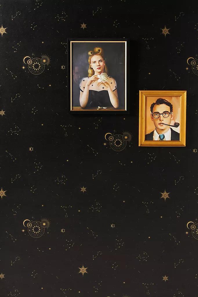 Cocorrina Planetary Magic Wallpaper Poppy Wallpaper Wallpaper Thistle Wallpaper