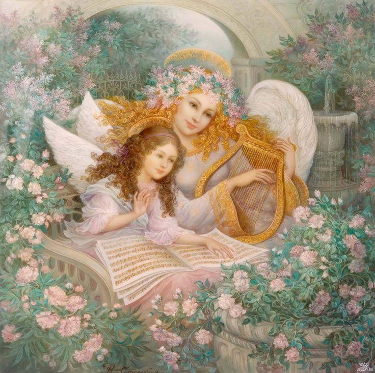 angels of spring | visit allday ru | Celestial Angels | Pinterest