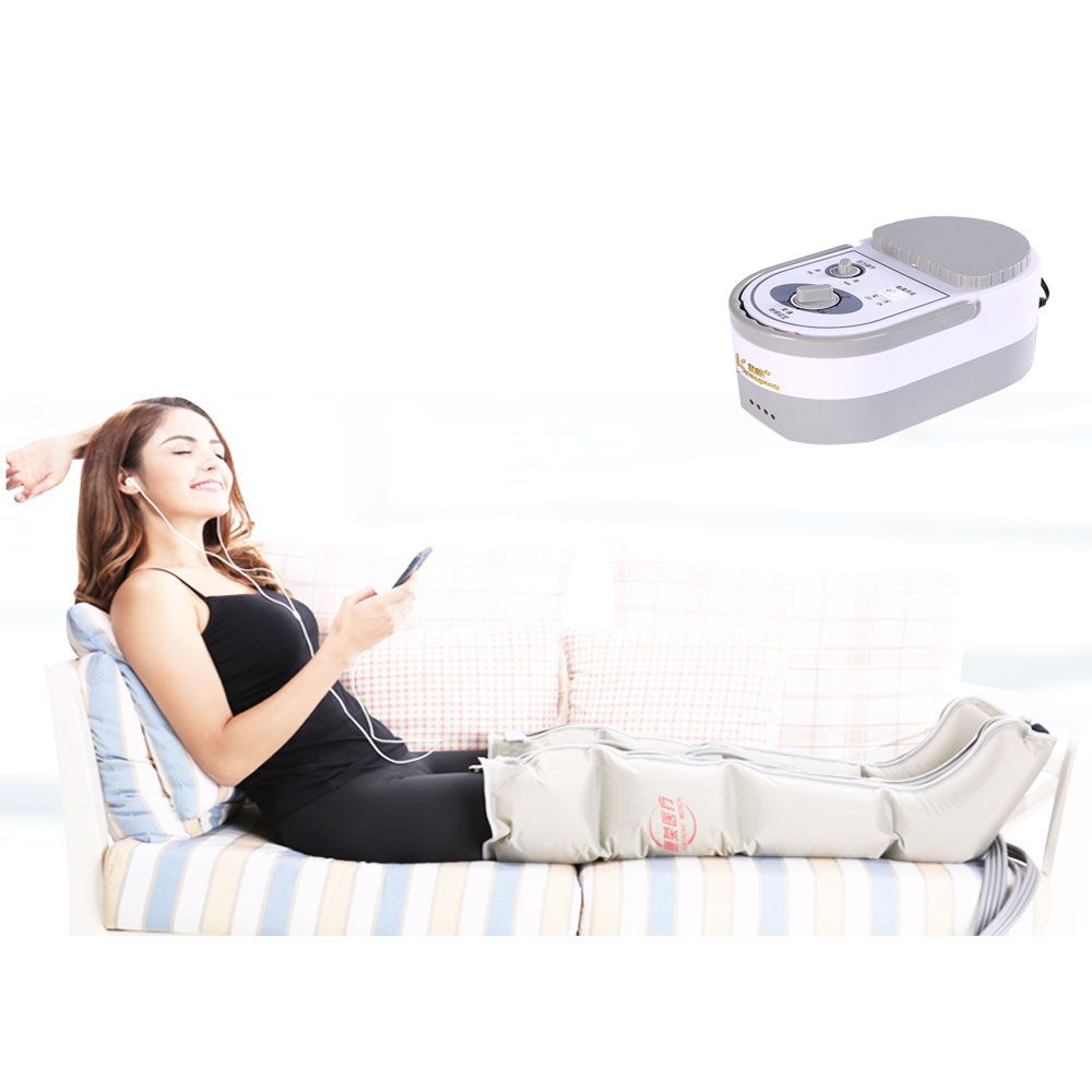 The old man pneumatic Leg Massager Massage instrument to promote blood circulation of air electric wave massage therapy