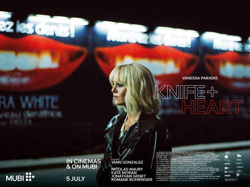 New Uk Trailer Poster For Giallo Esque Thriller Knife Heart