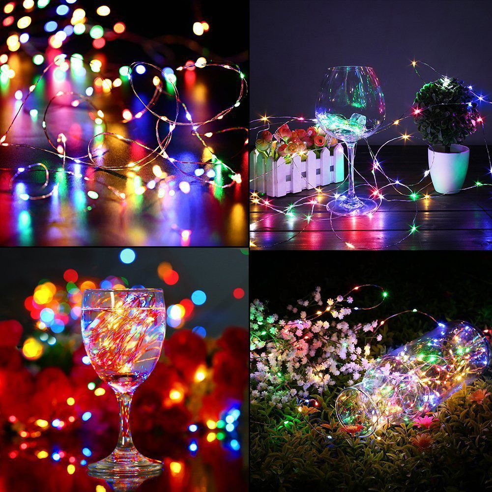 Christmas Wedding Party Bedroom Indoor Outdoor Decorative Firefly Light Plug In Led Christmas Tree Outdoor Christmas Lights Fairy Lights