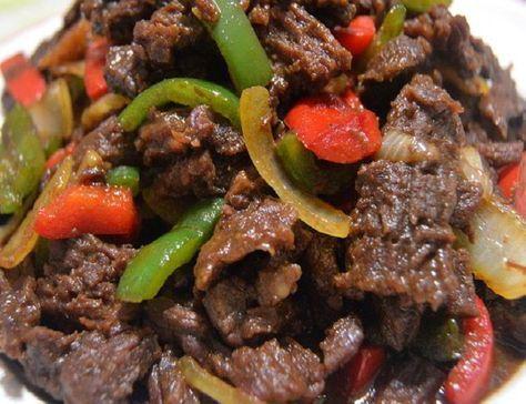 Resep Daging Sapi Lada Hitam Enak Resep Daging Sapi Resep Daging Resep Masakan