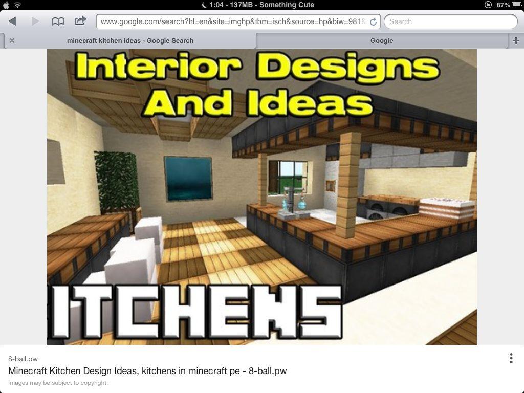 Kitchen  Minecraft Lol  Pinterest Impressive Minecraft Modern Kitchen Designs Inspiration Design