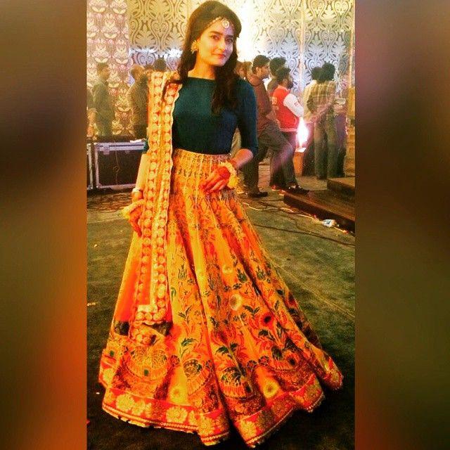 Sobya looks Beautiful in an Ali Xeeshan ensemble #WEDDING #colour #collection #Glamour #fashion #love #blessing #Alixeeshan #signature #Bride #Lahore #karachi #Spring #super #happy #mehndi