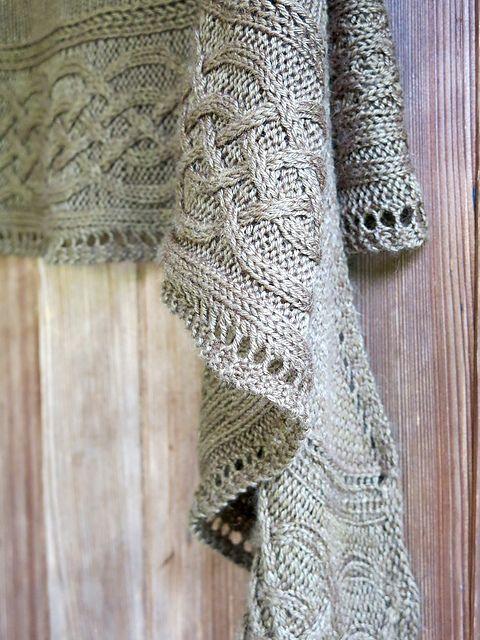 celtic myths shawl... free ravelry download | Knitting | Pinterest ...