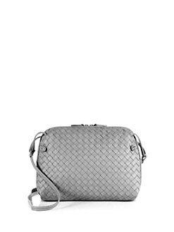 Bottega Veneta - Small Woven Leather Pillow Bag