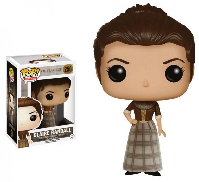 Cabez 243 N Claire Randall 9 Cm Outlander L 237 Nea Pop