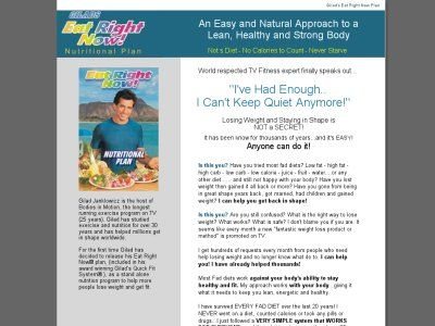 Eat Righ Now And Lose Weight - By Gilad