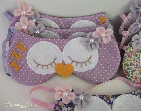 46dbb5d5a88342 Protetor de olhos para dormir | tecido | Máscara de dormir, Ideias ...