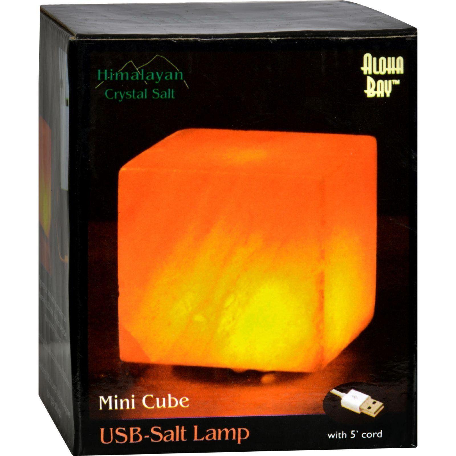 Himalayan Salt Cube Salt Lamp Usb 3 In Salt lamp