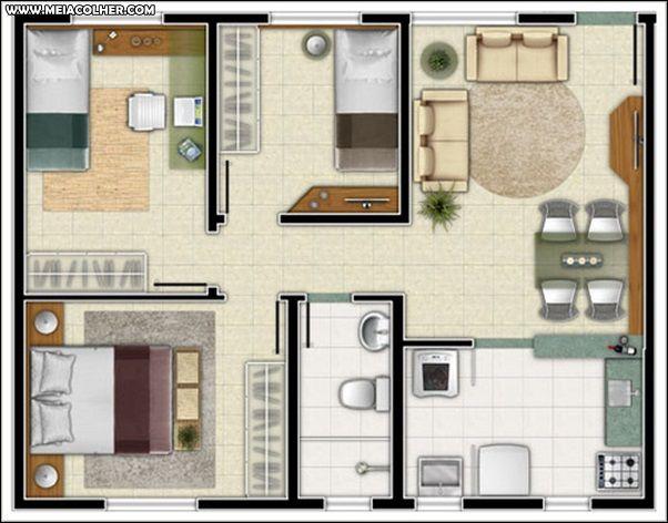 Modelos+de+Casas+Pequenas+e+Baratas+para+construir+3.1.jpg (602×472 ...