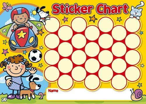 Mini Sticker Chart - Child'S Play | Board | Pinterest | Sticker