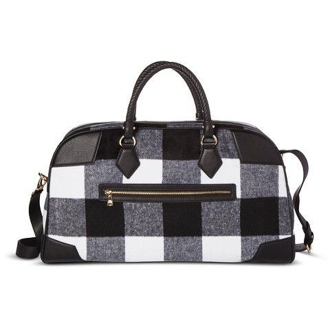 Adam Lippes for Target Weekender Patchwork Bag - Black & White ...