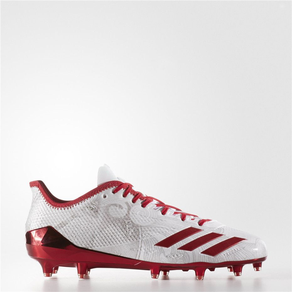 Adidas Adizero 5 Star 6 0 Cleats Running White University Red University Red Adidas Soccer Shoes Football Shoes Sport Shoes