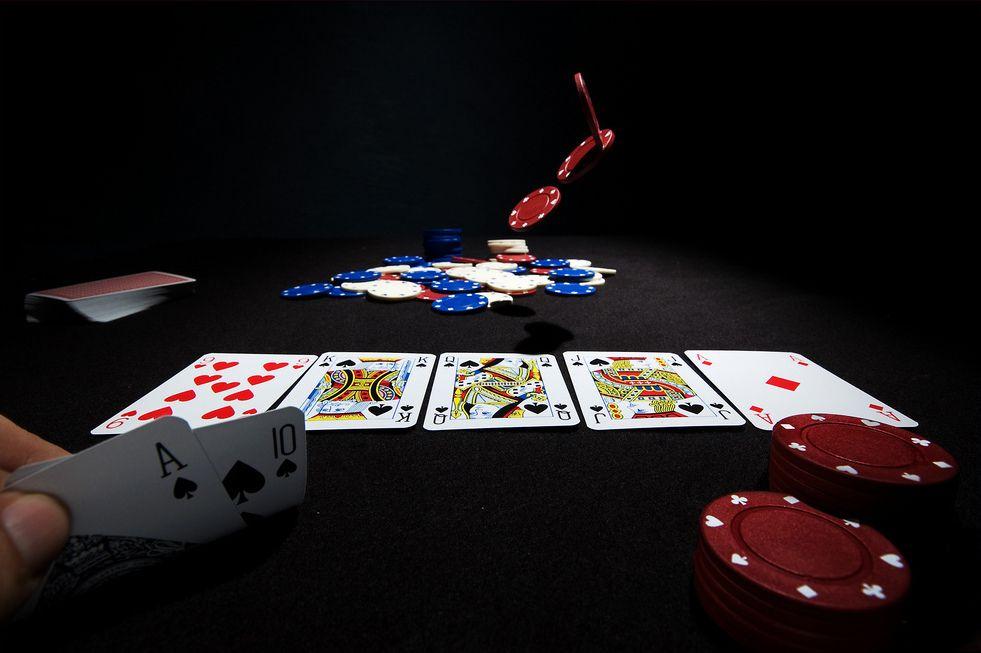 Poker Texas Hold'em Poker, Online poker, Gambling games