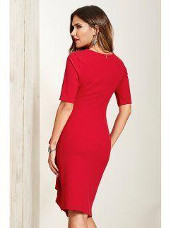 899a770ba Vestido fiesta mujer con broche de fantasía   dresses