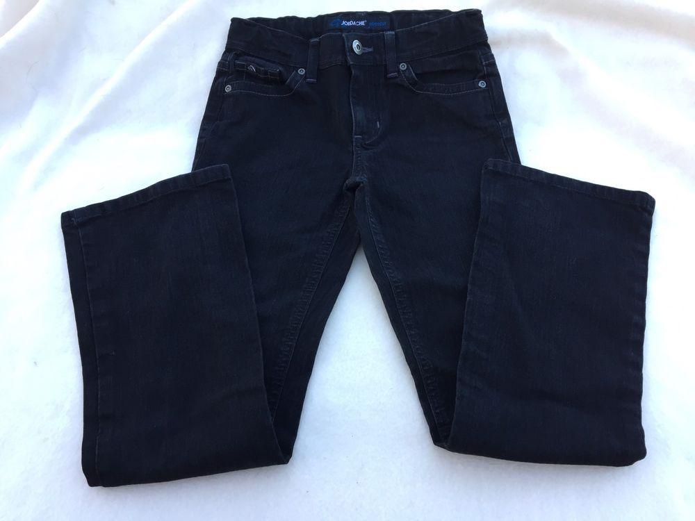 8a58acd49fc Girls Jordache Jeans Black Size 10 Denim Adjustable Waistband Pants Stretch  #fashion #clothing #
