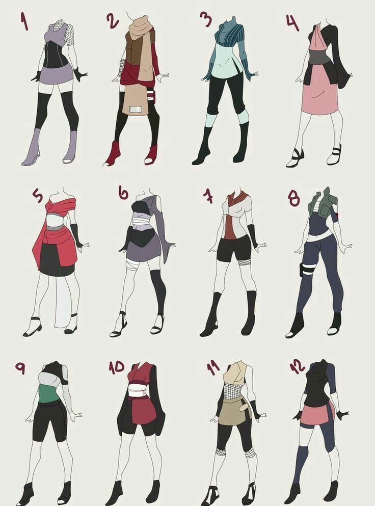 Pin By Shambria Loffer On Trajes Drawing Anime Clothes Anime Outfits Art Clothes