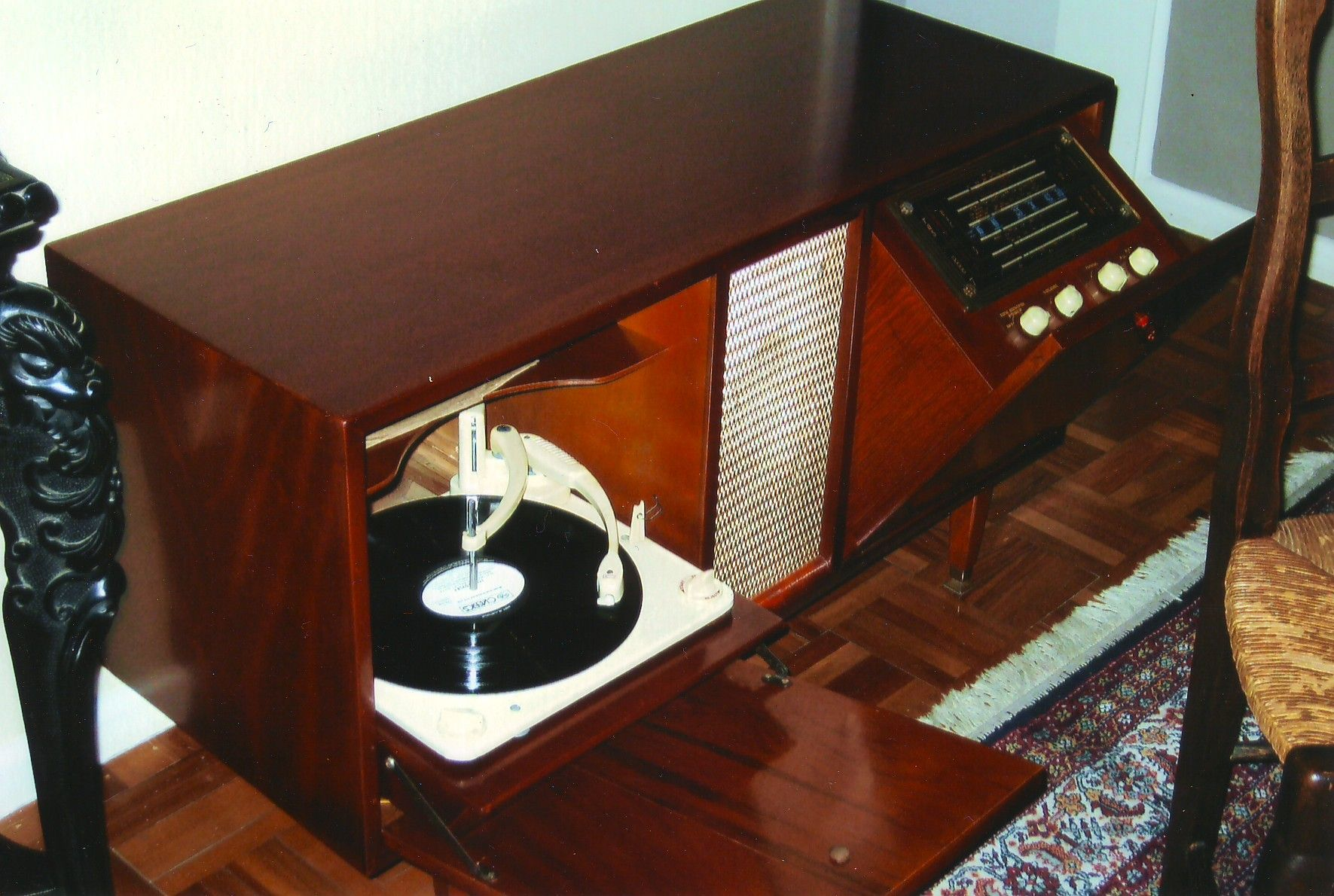 "1950's ""Classic"" Radiogram Radio record player"