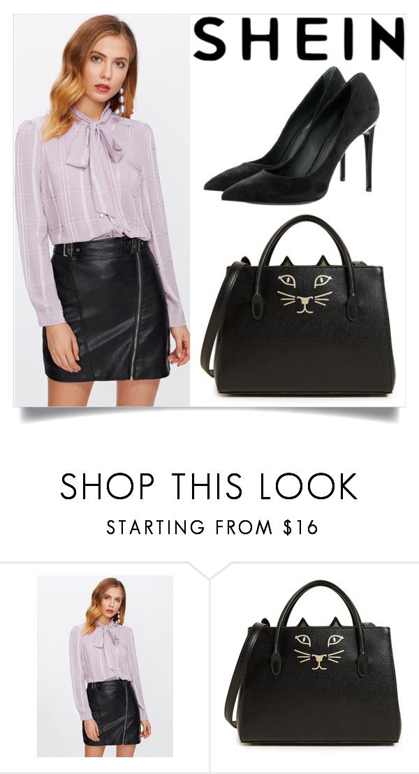 """shein contest"" by sundjerbob-skockani ❤ liked on Polyvore featuring Charlotte Olympia and Louis Vuitton"