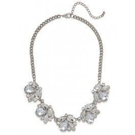 Bauble Bar Floral Cluster Necklace